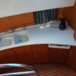 Broom 50 - Double sink with mixer tap, dishwasher and avonite worktop