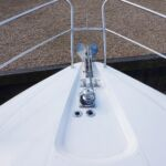 Broom 50 - Electric anchor windlass with remote deck controls