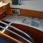 Broom 50 - Galley with fitted appliances