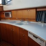 Broom 50 - Large galley with tongue and groove flooring