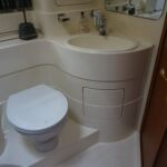 Broom 50 - Main Heads with toilet, wash hand basin and ensuite access to forward cabin