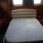 Broom 50 - Master aft cabin with double bed and ensuite facilities