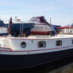 Replica Dutch Barge - Kerensa at mooring