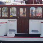 Dutch Wide Beam Barge - Wheelhouse
