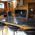 Wide Beam Barge - Breakfast Bar