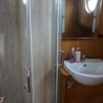 Wide Beam Barge - Shower Cubicle