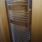 Wide Beam Barge - Heated towel rail