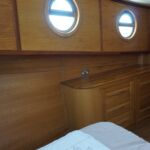 Wide Beam Barge - Sideboard in master bedroom