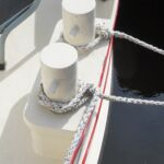 Wide Beam Barge - Substantial mooring cleats