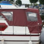 Ocean 30 - Aft canopy cover