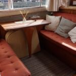 Ocean 30 - Dinette converts into a double berth