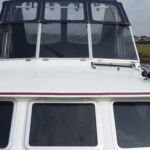 Pedro Solano 33 - Windscreens lower to give a low airdraft on inland waterways