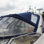 Sealine S34 - Two piece aft canopy cover