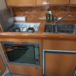 Sealine S34 - Galley with fitted appliances