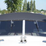 Princess 30S - Large windscreens with wipers