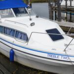 Viking 22 - Treble Two at mooring