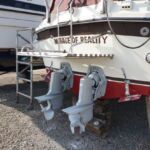 Fairline Mirage - Out Drives cleaned and repainted