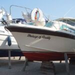 Fairline Mirage - Polished hull and antifouled (Auigust 2021)